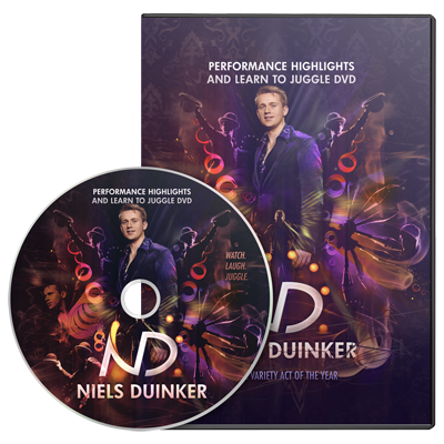 Learn To Juggle by Niels Duinker - DVD - Got Magic?