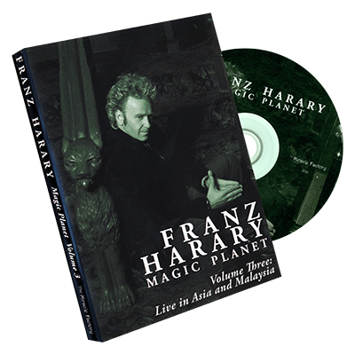 Magic Planet vol. 3: Live in Asia and Malaysia  by Franz Harary and The Miracle Factory - DVD - Got Magic?