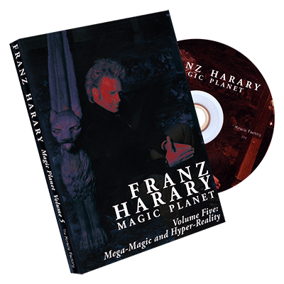 Magic Planet vol. 5: Mega-Magic and HyperReality  by Franz Harary and The Miracle Factory - DVD - Got Magic?