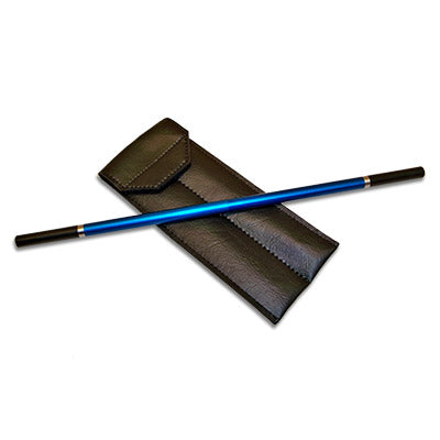 Metal Wand (Blue) by Joe Porper - Trick - Got Magic?