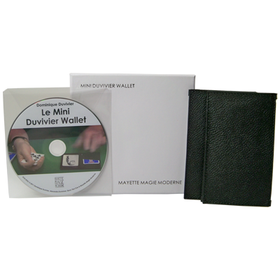 The Mini Duvivier Wallet (With DVD) by Mayette Magie Moderne -Trick - Got Magic?