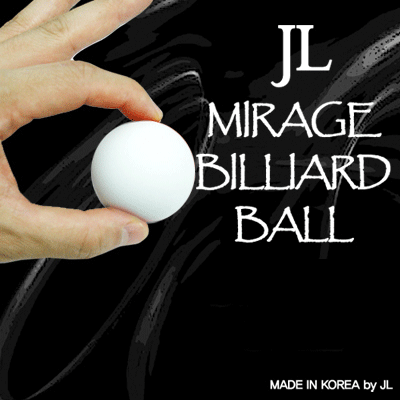 Two in Mirage Billiard Balls by JL (WHITE, single ball only) - Trick - Got Magic?