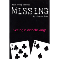 Missing by Charlie Frye and Alan Wong - Trick - Got Magic?