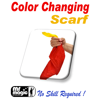 Color Changing Silk Scarf by Mr. Magic - Trick - Got Magic?