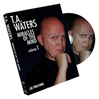 Miracles of the Mind Vol 1 by TA Waters - DVD - Got Magic?