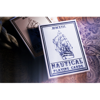 Nautical Playing Cards (Blue) by House of Playing Cards - Got Magic?