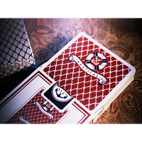 Nautical Playing Cards (Red) by House of Playing Cards - Got Magic?
