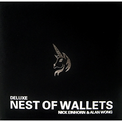 Nesting Wallets (AKA Nest of Wallets) DVD and Props by Nick Einhorn and Alan Wong