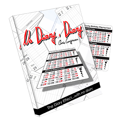 No Diary Diary by Chris Congreave and Titanas Magic Productions - Trick - Got Magic?