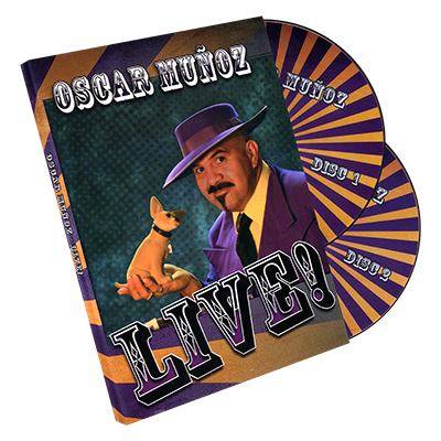 Oscar Munoz Live (2 DVD Set) by Kozmomagic - DVD - Got Magic?