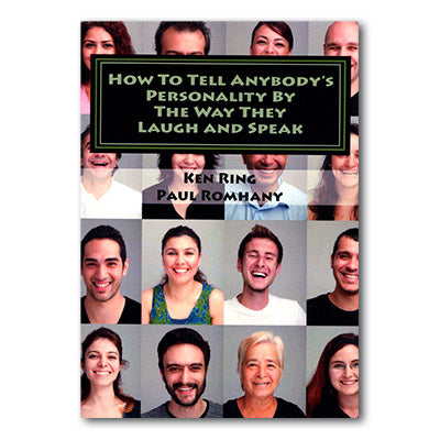 How to Tell Anybody's Personality by the way they Laugh and Speak by Paul Romhany - Book - Got Magic?