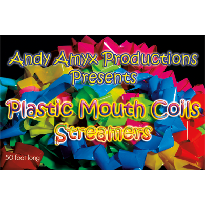 Plastic Mouth Coil (Rainbow) by Andy Amyx - Trick - Got Magic?