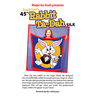 Rabbit Ta-Dah Silk (45 inch) by Goshman - Tricks - Got Magic?