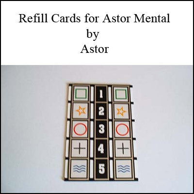 Refill for Astor Mental by Astor - Trick - Got Magic?
