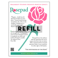 The Rose Pad REFILL by Martin Lewis - Trick - Got Magic?