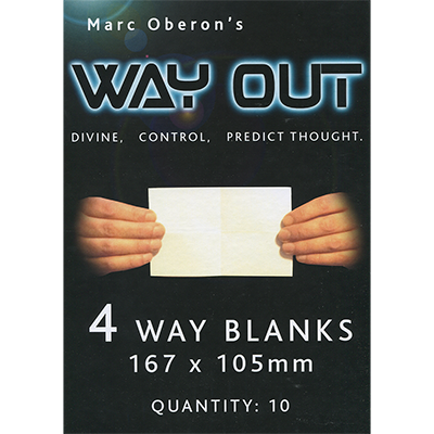 Refill for Way Out XII (4way) by Marc Oberon - Trick - Got Magic?