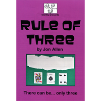 Rule of Three by Jon Allen - Trick - Got Magic?
