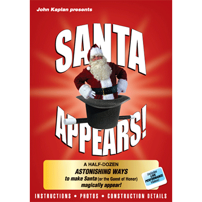 Santa Appears by John Kaplan - DVD - Got Magic?