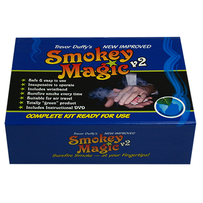 Smokey Magic Version 2 by Trevor Duffy - Trick - Got Magic?