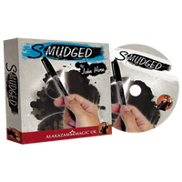 Smudged (DVD and Gimmick) by John Horn And Alakazam Magic - Got Magic?