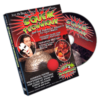 Squeak Technique (DVD and Squeakers) by Jeff McBride - DVD - Got Magic?