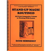 Stand Up Magic by David Hemingway - Book - Got Magic?