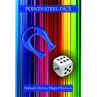 Points Steel Dice (2 Dice Set) - Trick - Got Magic?