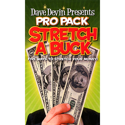 Stretch-a-Buck (Pro-Pack) by Dave Devin - Trick - Got Magic?