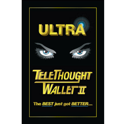 Telethought Wallet (VERSION 2) by Chris Kenworthey - Trick - Got Magic?