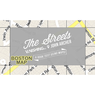 The Streets (Boston Map) by John Archer and Vanishing Inc. - Trick - Got Magic?