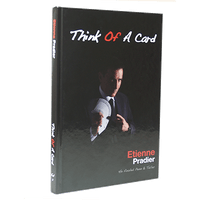 Think of a Card by Etienne Pradier - Book - Got Magic?