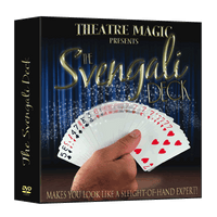 Svengali Deck (DVD and Gimmick) by Theatre Magic - Trick - Got Magic?