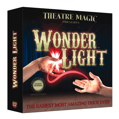 Wonder Light (DVD and Gimmick) by Theatre Magic - Trick - Got Magic?