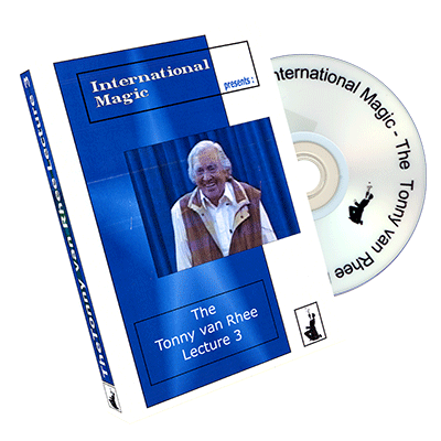 The Tonny van Rhee Lecture 3 by International Magic - DVD - Got Magic?