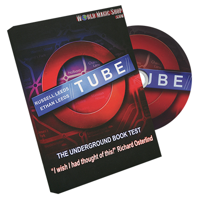 Tube (2 Gimmicked Maps both Stage and Parlor) by Russell and Ethan Leeds - Trick - Got Magic?