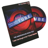 Tube (Stage size)( 2 parts-Tube & DVD) by Russell and Ethan Leeds - Trick - Got Magic?