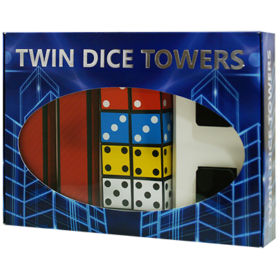 Twin Dice Towers by Joker Magic - Trick