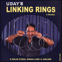 Linking Rings - 06 Inches - # 8 by Uday - Trick - Got Magic?