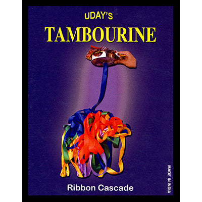 Tambourine Brass with Ribbon by Uday - Trick - Got Magic?