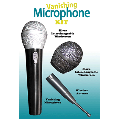 Vanishing Microphone Kit by George Iglesias - Trick - Got Magic?