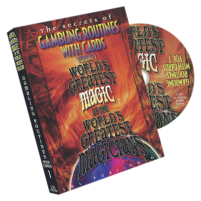 Gambling Routines With Cards (World's Greatest) Vol. 1 - DVD