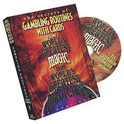 Gambling Routines With Cards Vol. 3 (World's Greatest) - DVD - Got Magic?
