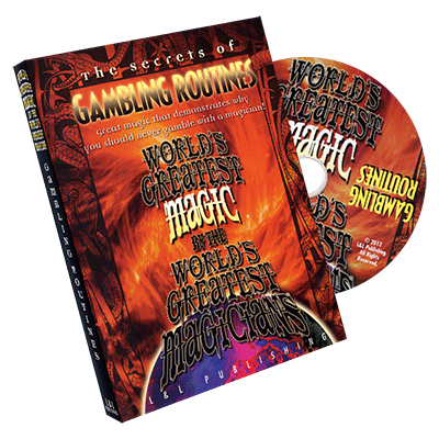 Gambling Routines (World's Greatest) - DVD - Got Magic?