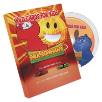 Wild Card Tricks For Kids! (DVD and gimmicks) by Paul Romhany - Trick - Got Magic?