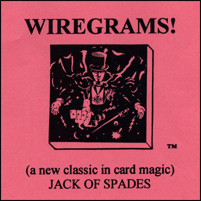 Wiregrams (Jack Of Spades) - Trick - Got Magic?