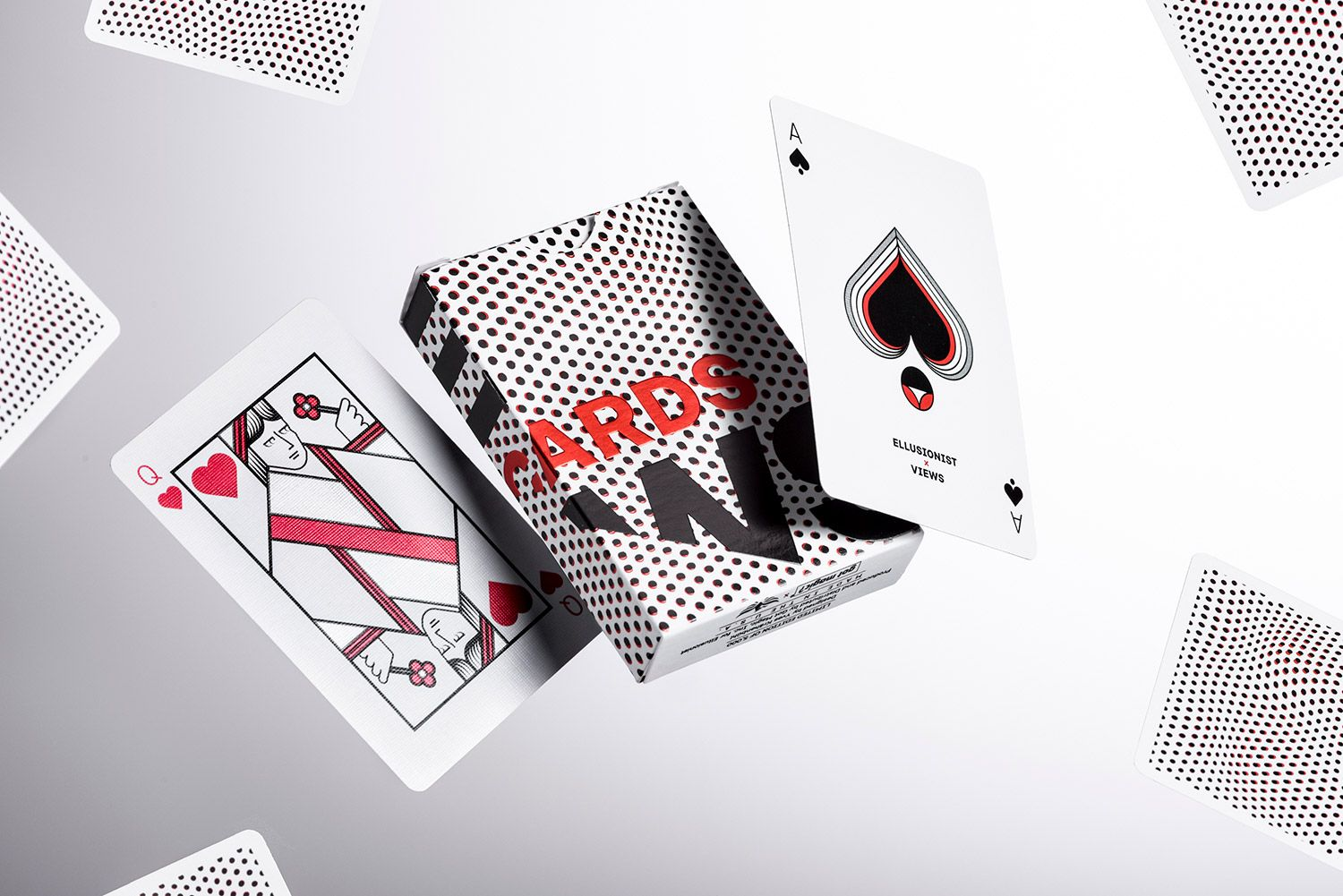 Jazz Stripes Playing Cards