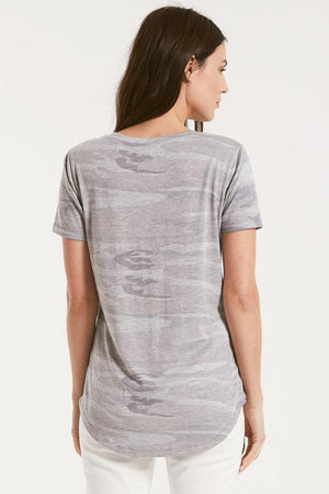 The Camo Pocket Tee-Heather Grey | Z Supply - Katina's