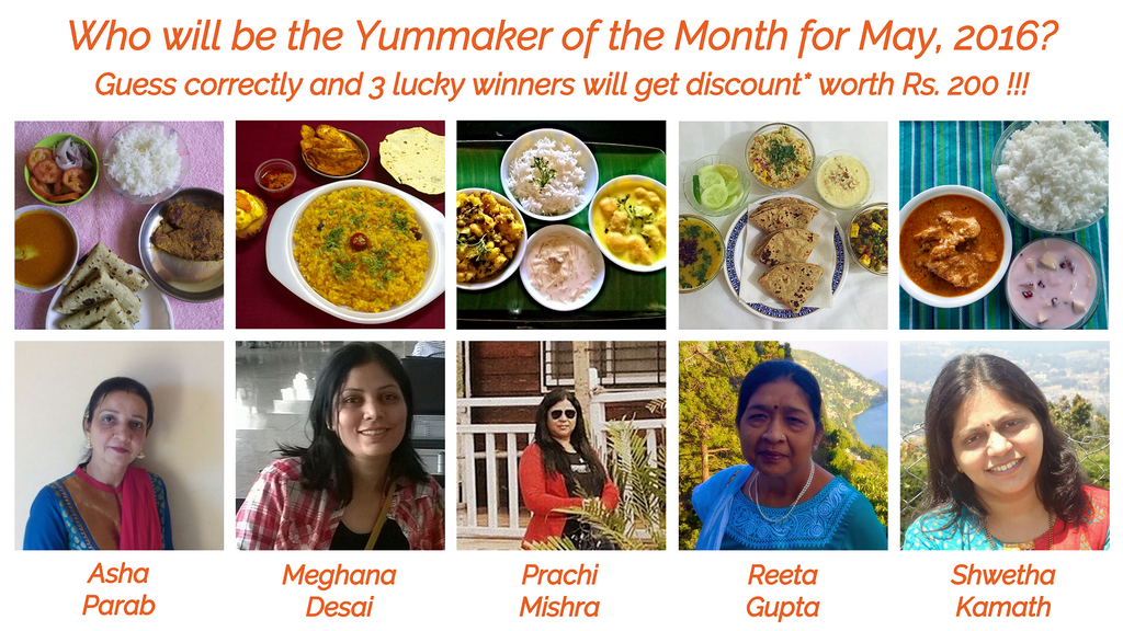 Guess the Yummaker of the Month Contest
