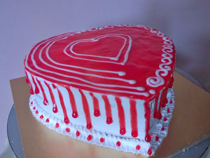 Cakes by Prajakta Gandhi (Eggless) - Red Velvet Cake / 1 / 2 Kg - Homely - By Prajakta Gandhi - 12