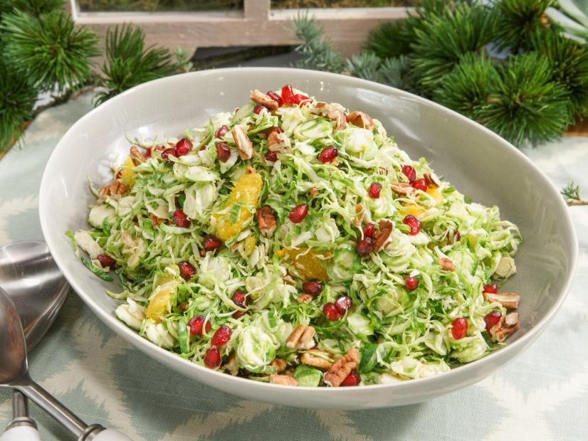 Homely Greens: Shaved Brussels Sprouts Salad